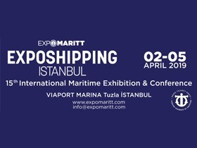 Bulutlu Marine as a most known company in Maritime Industry will attend the 15th Exposhipping İstanbul International Maritime Exhibition & Congress between 02-05 April 2019.