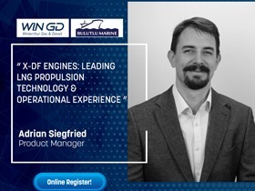 X-DF Engines: Leading LNG Propulsion Technology & Operational Experience. We are organizing a seminar with one of our principals called WinGD, which is a developer of engines for marine propulsion.